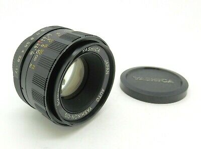 Superb Yashica Yashinon DS 50mm F1.7 in M42 Screw Mount