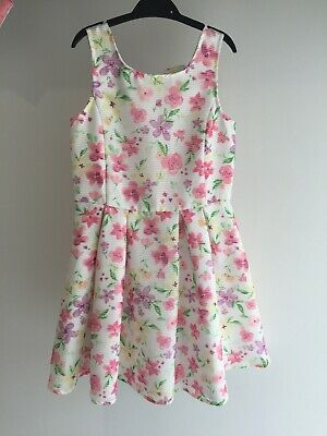 Girls Dunnes Summer Party Dress Age 9
