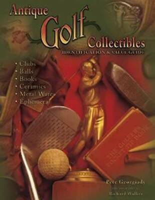 ON SALE! Vintage Golf Collectibles Price Guide Wood Shaft Clubs