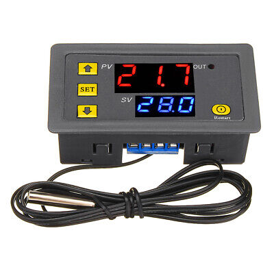 W3230 AC110V-220V 20A LED Digital Temperature Controller Thermostat Thermometer