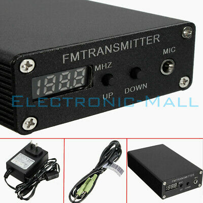 5W 87~109MHz BH1415F Stereo Digital Radio Station FM MP3 Wireless Transmitter