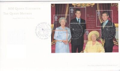 2000 Queen Mother's 100th Year, London SW1 Strike, Excellent Cond, Typed Address