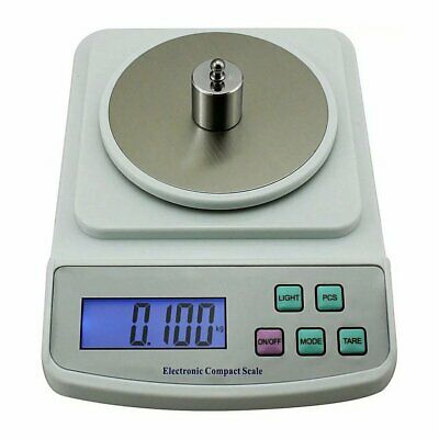 SF-400C 500g 0.01g Electronic Balance Scale High Precision Digital Display Kitch