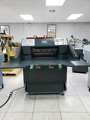 Challenge Titan 230 Paper Cutter used with 25k cuts