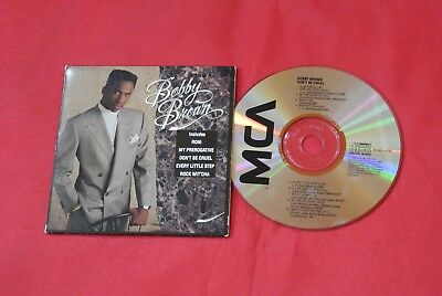 Rare Bobby Brown Don't Be Cruel  Promo Promotional Digipak 1988 Import Canada CD