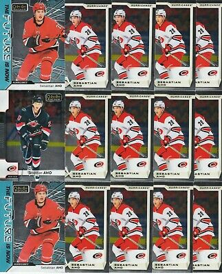 Sebastian Aho 15 Card Lot 18-19 Opc Platinum The Future Is Now Base # 42 2018-19
