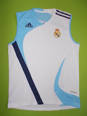 official photos 22aea e584d REAL MADRID TRAINING Sleeveless Jersey Shirt Dark Grey Mens ...