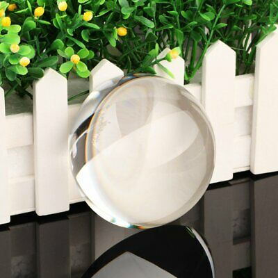 40mm-90mm Clear Half Sphere Crystal Ball Paperweight Magnifying Glass Decoration