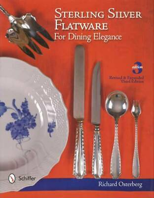 Steling Silver Flatware Silverware Collector Guide incl Shape & Use ID