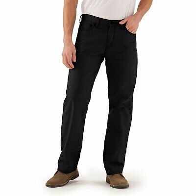 Signature By Levi Strauss & Co. Gold Label Mens Gothic Black Relaxed Fit Jeans