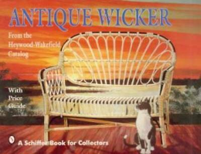 Vintage Heywood Wakefield Furniture Book Wicker Modern