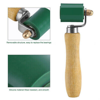 6.3'' High Heat Silicone Roller Resistant Seam Hand Pressure Roller Fits Roofing