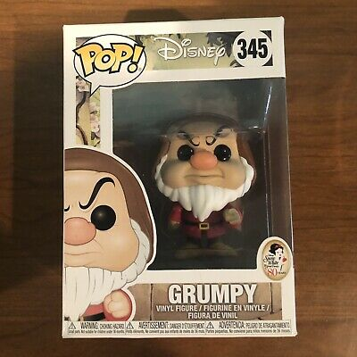 Disney Snow White and the Seven Dwarfs #345 - Grumpy - Funko Pop! Disney