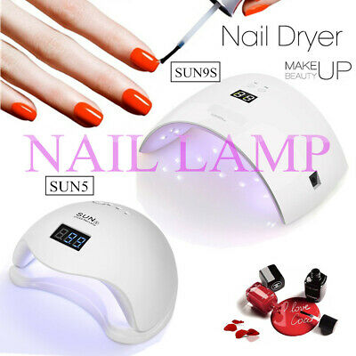 Nail Polish Dryer UV LED Lamp Gel Light Art Cure Curing Manicure Timer Machine