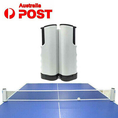 Games Retractable Table Tennis Ping Pong Portable Net Kit Replacement Set AU NEW