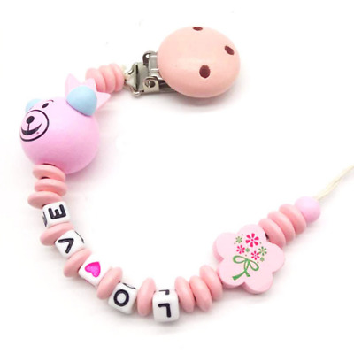 Baby Star Pacifier Chain dummy Holder Clip Baby Feeding Teether Pacifiers Clip K