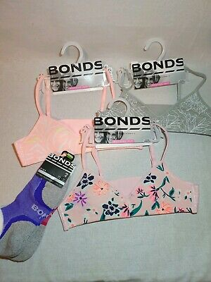 3 Bonds Girls Crops 12-14 yrs. Plus 2 pairs extra cushioning sport socks 10yrs+