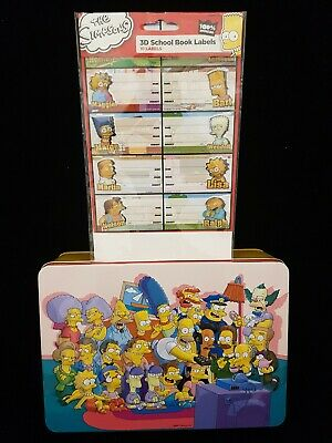 The Simpson's Empty Biscuit Tin Collector's Item in Very Good Overall Condition.