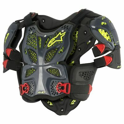Brustpanzer Alpinestars A-10 Full Chest Protector anthracite Gr. XSS