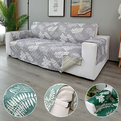 Quilted Waterproof Sofa Slip Cover, Anti Slip Pet Sofa Protector Throw Home