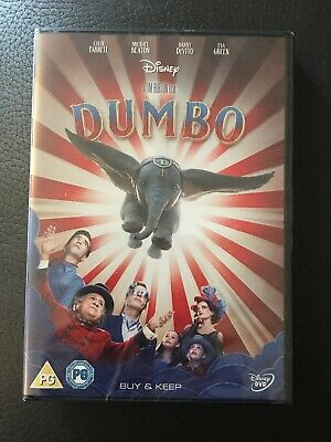 Dumbo [2019] [DVD] TIM BURTON FILM NEW SEALED FREE POST