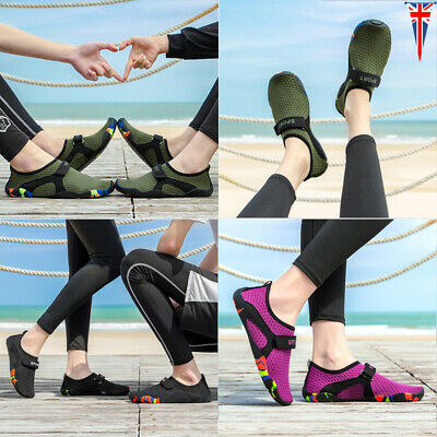 Mens Womens Wetsuit Aqua Shoes Barefoot Slip On Sea Water Beach Surfing Diving