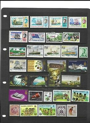 Commonwealth QE2 collection MNH and m/mint