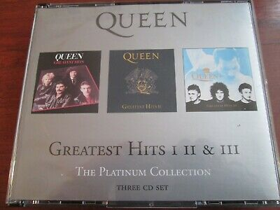 Queen Greatest Hits 1 2 3 The Platinum Collection [Cd Box Set] New And Sealed