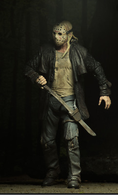 """Ultimate Jason 2009 Friday the 13th - 7"""" Scale Action Figure NECA Jason Voorhees"""