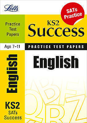 (Very Good)-English: Practice Test Papers (Letts Key Stage 2 Success) (Letts Key