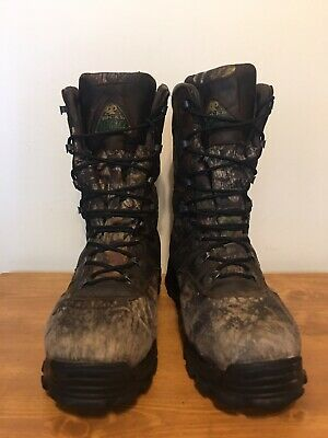 25f4b7a1ac7 ROCKY BOOTS SIZE 11 M 800 Gram Thinsulate Insulation 7370 Leather ...