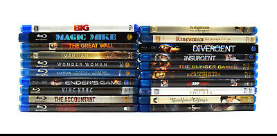 (Lot of 20) Assorted Bluray Movies Collection The Accountant (0574)