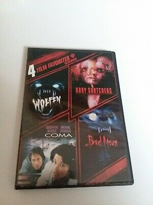 4 Film Favorites: Horror (DVD, 2007, 2-Disc Set)please see photo for movie title