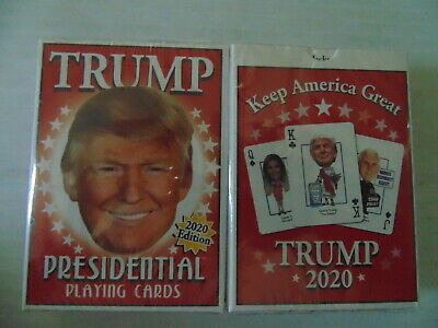 2020 Donald Trump Presidential Playing Cards Deck Shrinkwrapped With Tom Brady
