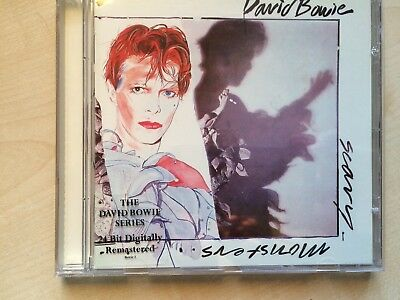 DAVID BOWIE - SCARY MONSTERS remastered (CD ALBUM)