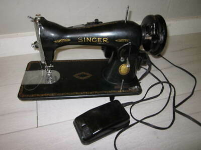 705 Singer Sewing Machine Simanco 125255 Model No. Motor BAJ3-8 Vintage