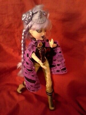 Bratzillaz MGA Bratz----Yasmina Clairvoya---Glam Wicked Fashion Purple Hair Doll