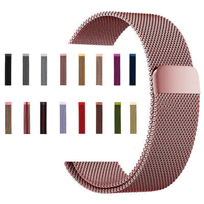 For Apple Watch Series 4 3 2 1 Magnetic Stainless Wrist Band Strap 38/42^RC