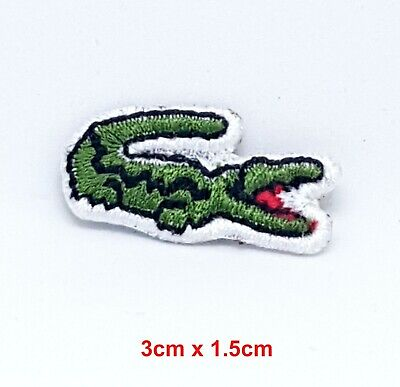 Lacoste clothing sports badge Iron Sew on Embroidered Patch