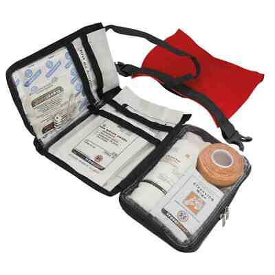 Travelsafe 43 Piece First Aid Kit Globe Waterproof Red Medical Safety Set