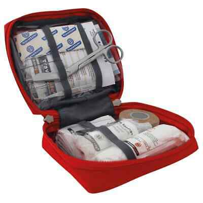 Travelsafe 23 Piece First Aid Kit Globe Basic Red Polyester Medical Safety Set