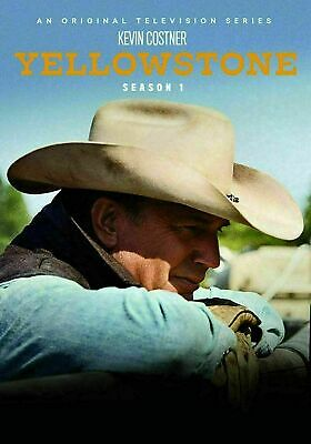 Yellowstone: First Season 1 One (DVD, 2018, 4-Disc Set) Brand New! Free shipping