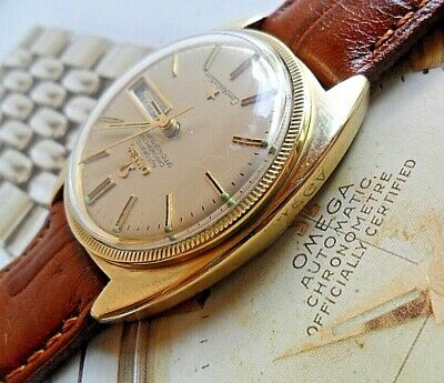 Vintage 1969 Omega Constellation Gold Capped 24 Jewel Cal. 751 Chronometer Watch
