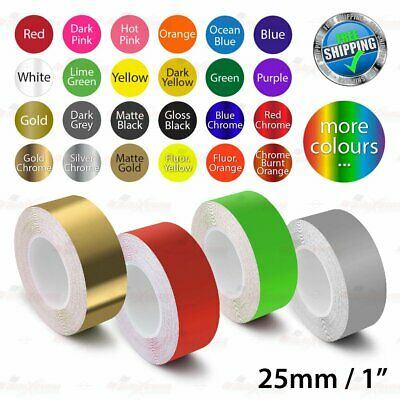 """25mm 1"""" PinStriping Pin Stripe Tape Car DIY Styling Line Decal Vinyl Stickers"""
