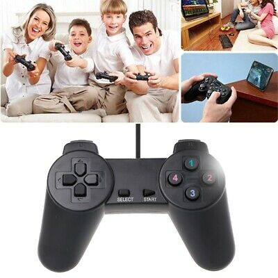 USB 2.0 Gamepad Gaming Joystick Wired Game Controller For Computer  Laptop PC