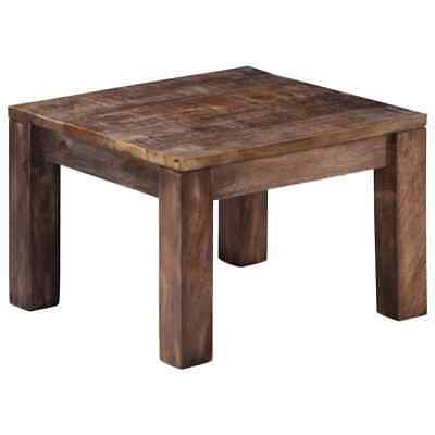 vidaXL Solid Mango Wood Coffee Table 50cm Living Room End Side Couch Stand