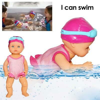 Electric Swimming Doll Waterproof Girl's Toy Birthday Gift Home Decoration