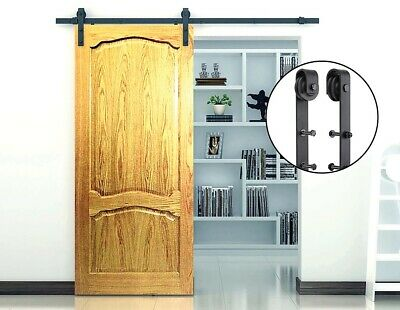 Black Sliding Barn Door Hardware