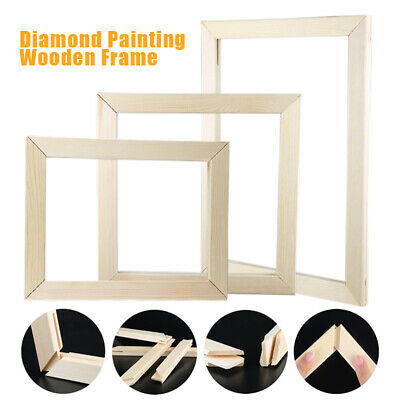 DIY Diamond Painting Wooden Frame Picture Frames Cross Stitch Kits Handmade Work