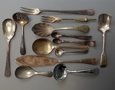 Collection of Antique Electro Plated EPNS Cutlery incl Fish Knife/Pickle Fork